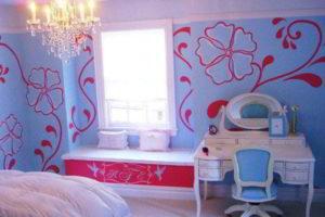 спальня для девочки фото 19