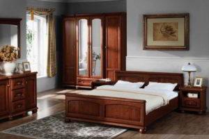 спальня из дерева фото 21