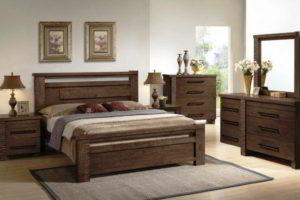спальня из дерева фото 38