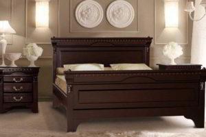 спальня из дерева фото 45