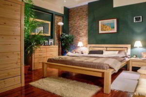 спальня из дерева фото 50