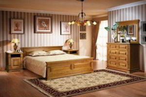 спальня из дерева фото 54