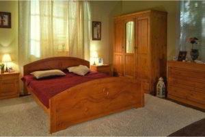 спальня из дерева фото 60