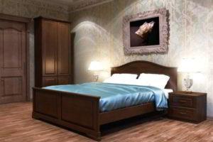 спальня из дерева фото 63