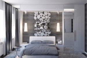 серая спальня фото 4