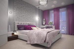 серая спальня фото 42