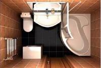 туалет совмещенный с ванной дизайн