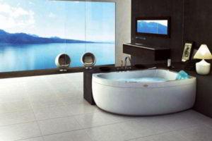 угловая ванна фото 13