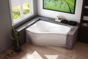 угловая ванна фото 24