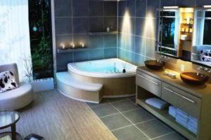 угловая ванна фото 9