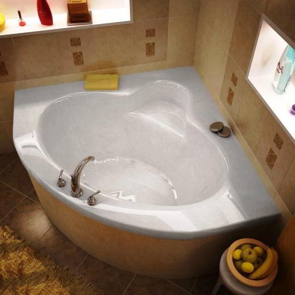 угловая ванная фото 6