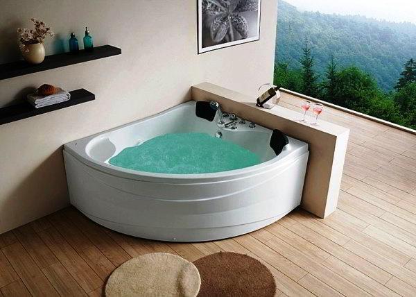 угловая ванная фото 9