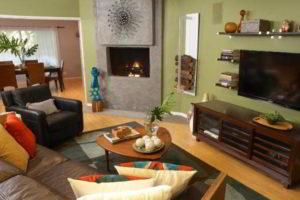угловые камины в интерьере гостиной фото 26