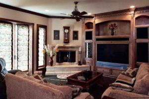 угловые камины в интерьере гостиной фото 37