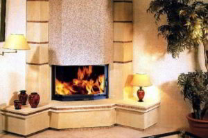 угловые камины в интерьере гостиной фото 42