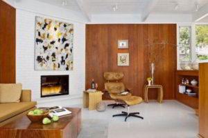 угловые камины в интерьере гостиной фото 45