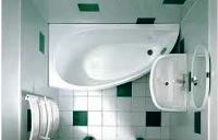 ванная с угловой ванной