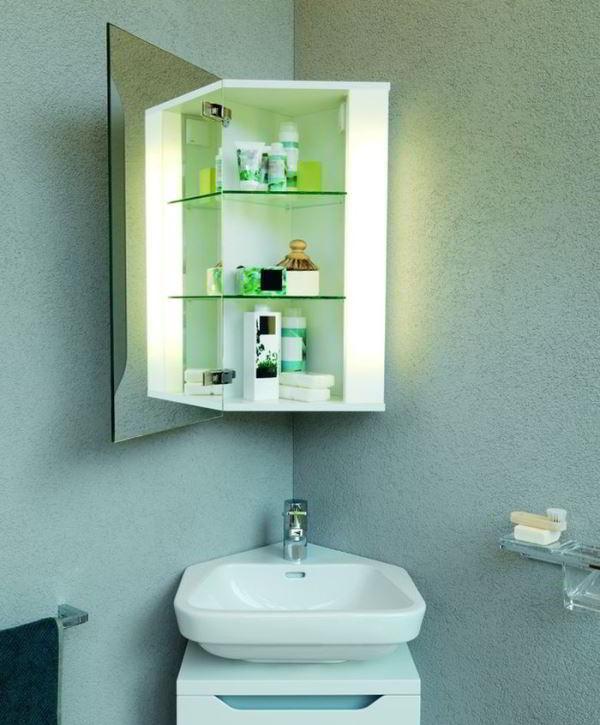 зеркальный шкаф для ванной фото 10