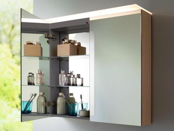 зеркальный шкаф для ванной фото 6