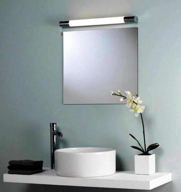 зеркало в ванную комнату с подсветкой фото 2
