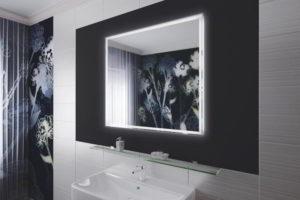 зеркало в ванную комнату с подсветкой фото 22