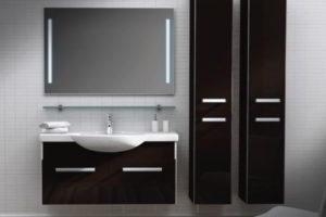 зеркало в ванную комнату с подсветкой фото 36