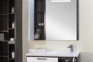 зеркало в ванную комнату с подсветкой фото 38