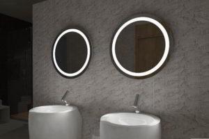 зеркало в ванную комнату с подсветкой фото 4