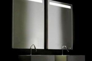 зеркало в ванную комнату с подсветкой фото 44