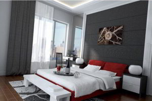минимализм в спальне фото 14
