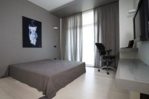 минимализм в спальне фото 2