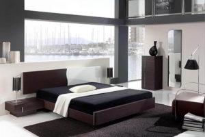минимализм в спальне фото 32