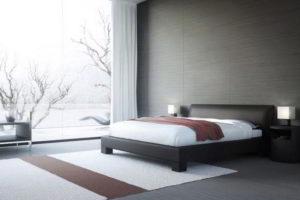 минимализм в спальне фото 42
