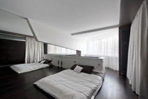 минимализм в спальне фото 9