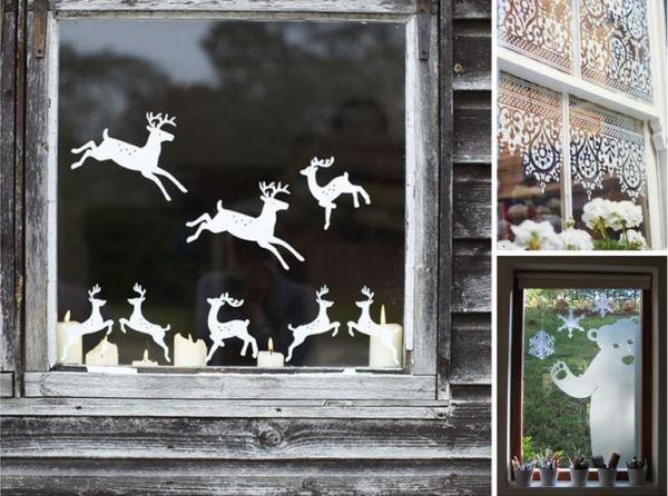 nok-28 Украшения на окна к Новому году: 13 идей для праздничного настроения