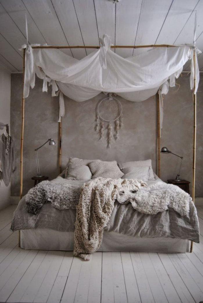 интерьер спальни лофт фото