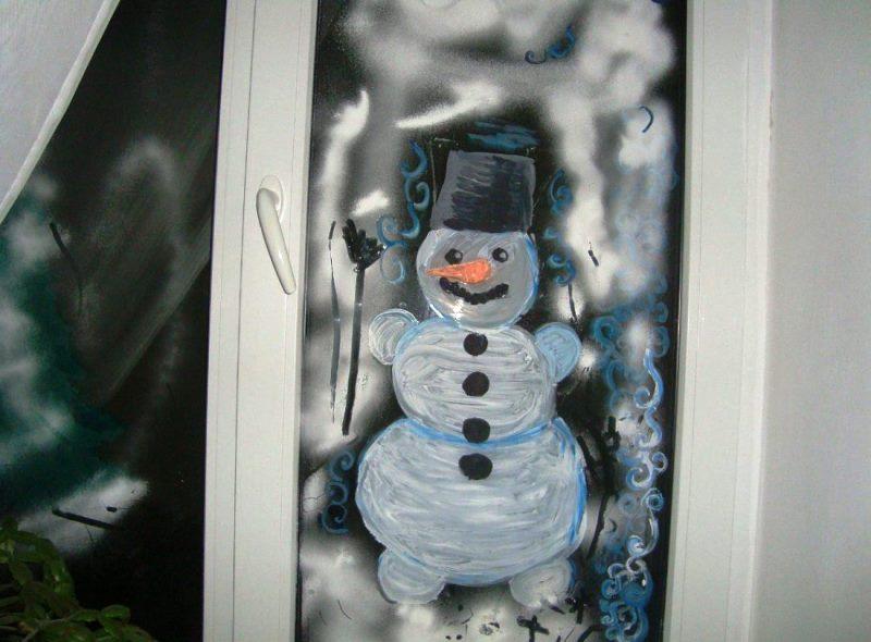 украсить окно фото 9