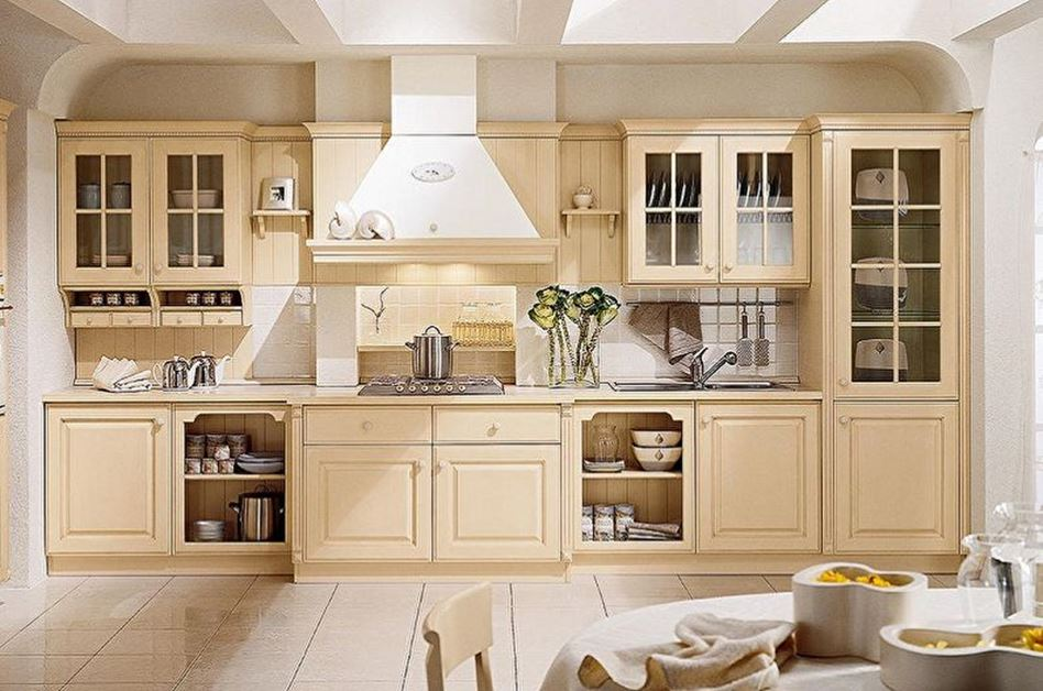 кухня в деревенском стиле фото интерьер