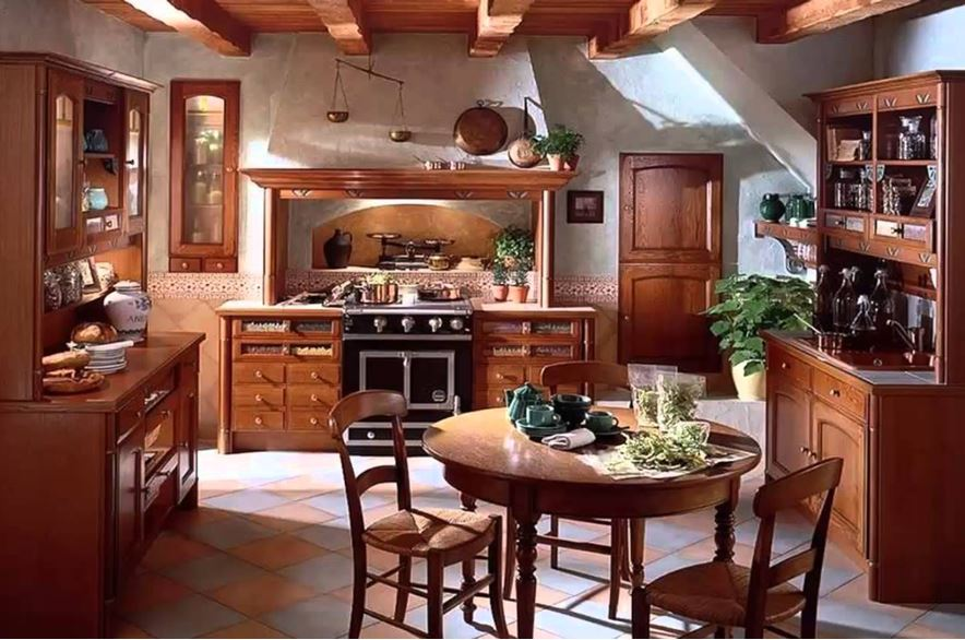 кухня кантри любимый дом