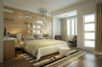 спальня в стиле контемпорари