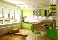 цвет кухни по фен шуй