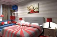 спальня в стиле поп арт
