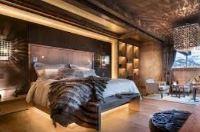 спальня в стиле шале фото