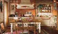 кухня в итальянском деревенском стиле