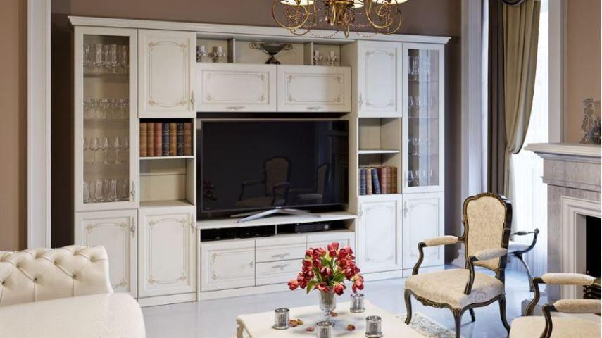 мебель для зала в современном стиле фото