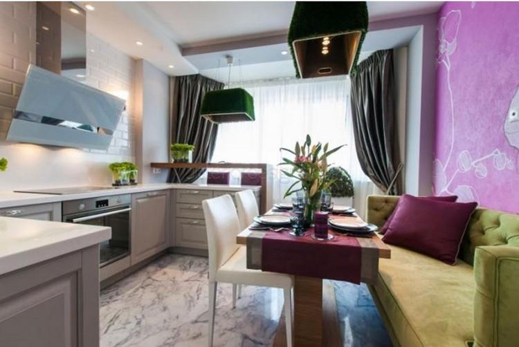 интерьер красивой кухни в квартире фото
