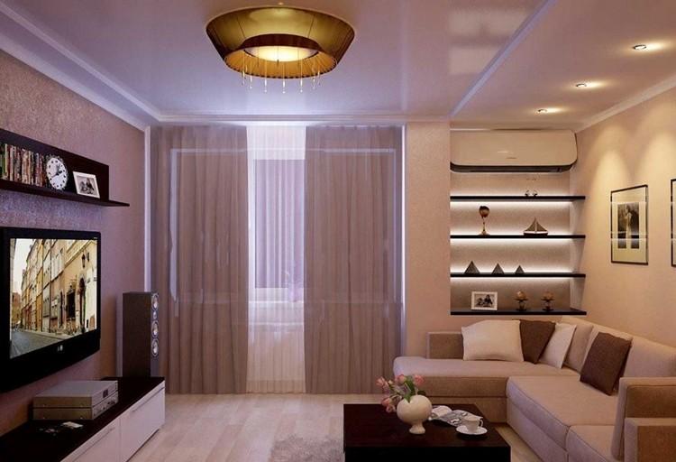 красивый интерьер гостиной в квартире фото