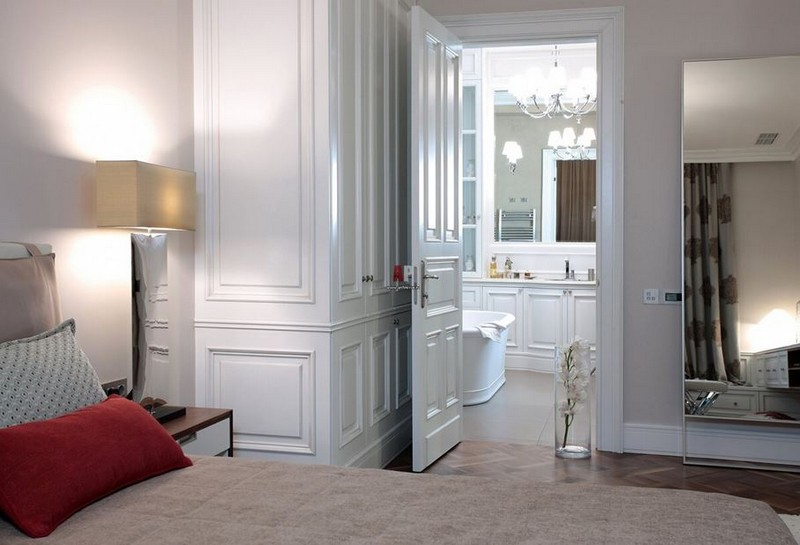 спальня с санузлом фото