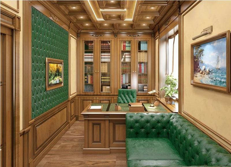 планировка кабинета фото