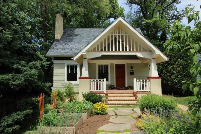 Маленький загородный домик фото
